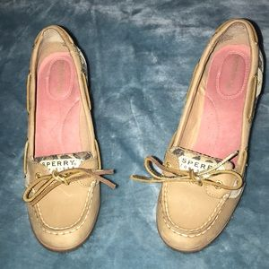 Sperry loafer wedges
